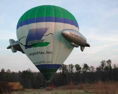 Como funcionam os balões de ar quente