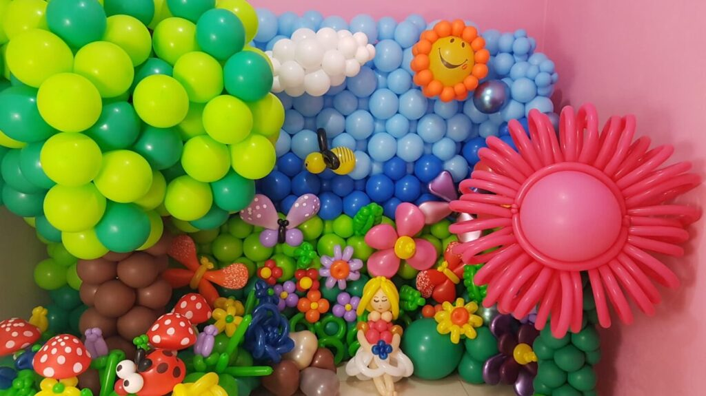 arte com balao curso de decoracao